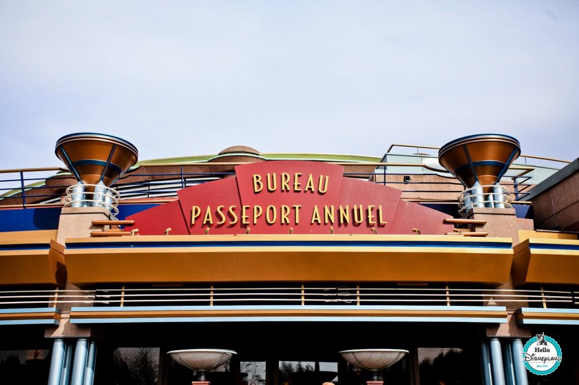 Bureau Passeport Annuel Disneyland Paris