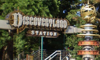 Disneyland Railroad Discoveryland Station