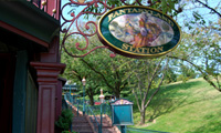 Disneyland Railroad Fantasyland Station