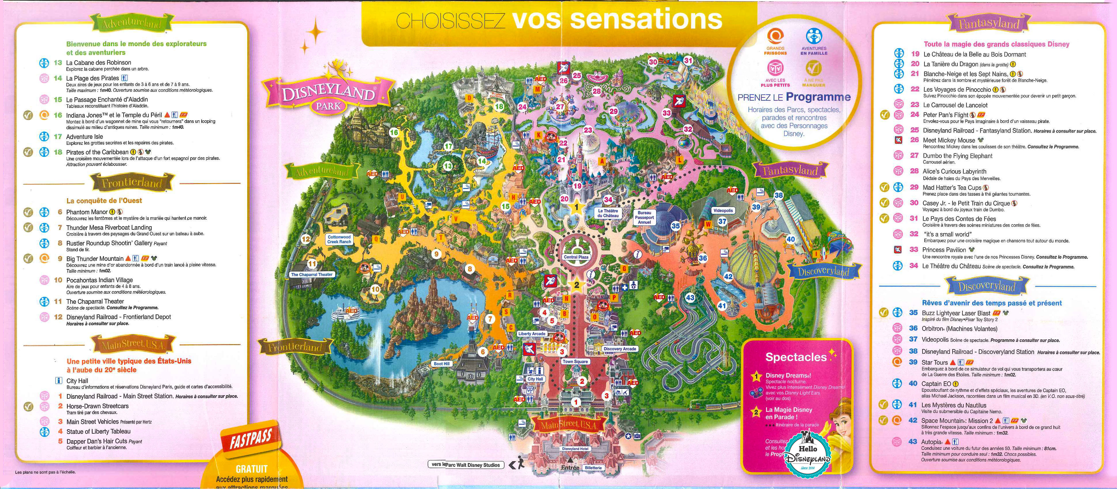 hello disneyland le blog n 1 sur disneyland paris plan des parcs disneyland paris programme. Black Bedroom Furniture Sets. Home Design Ideas