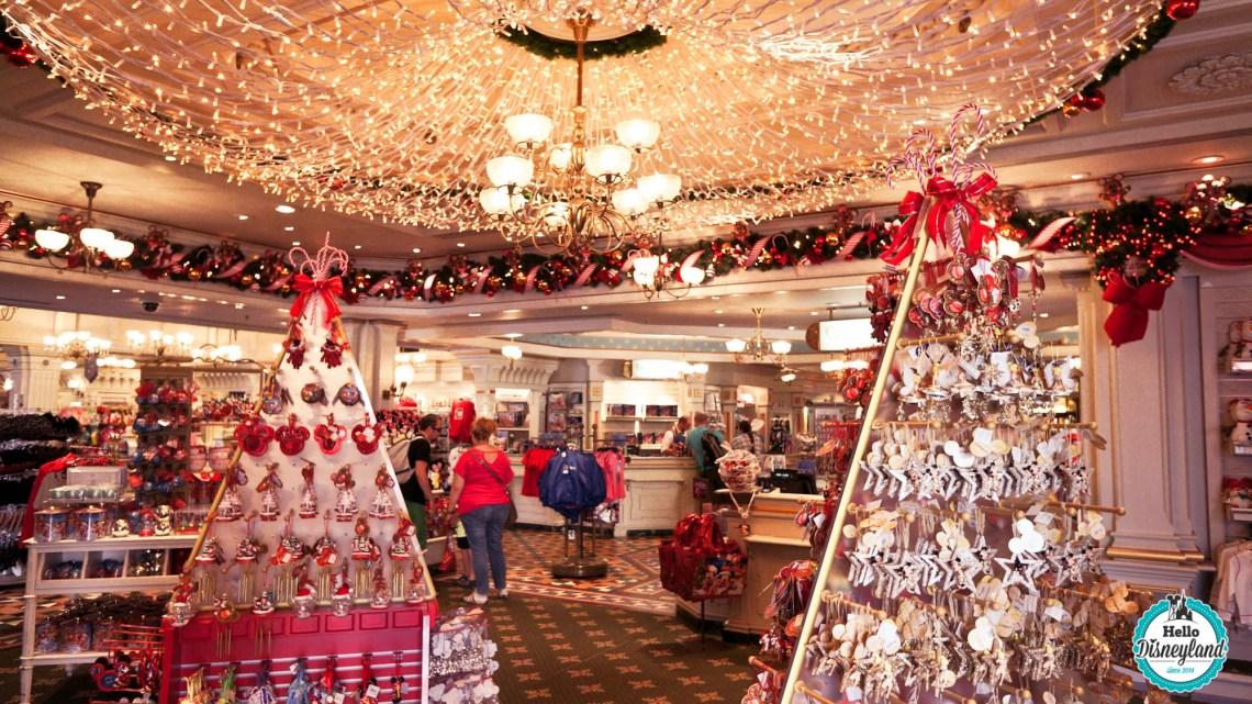 Où acheter Décoration de Noël Disneyland Paris
