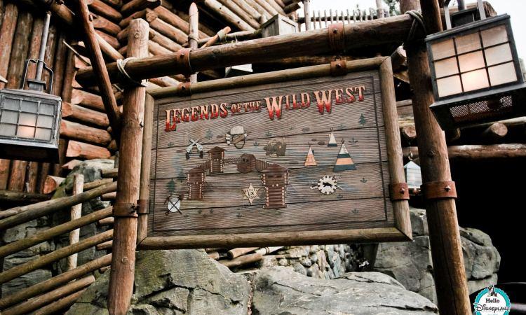 Legends of the Wild West Disneyland Paris
