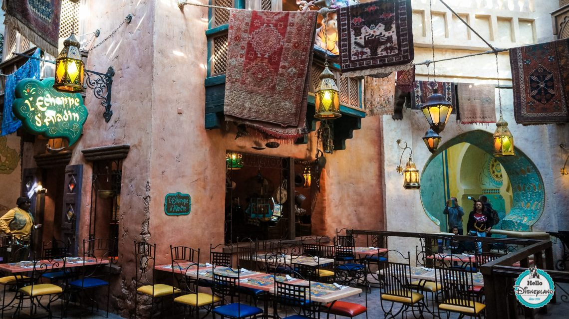Agrabah Cafe Restaurant - Disneyland Paris