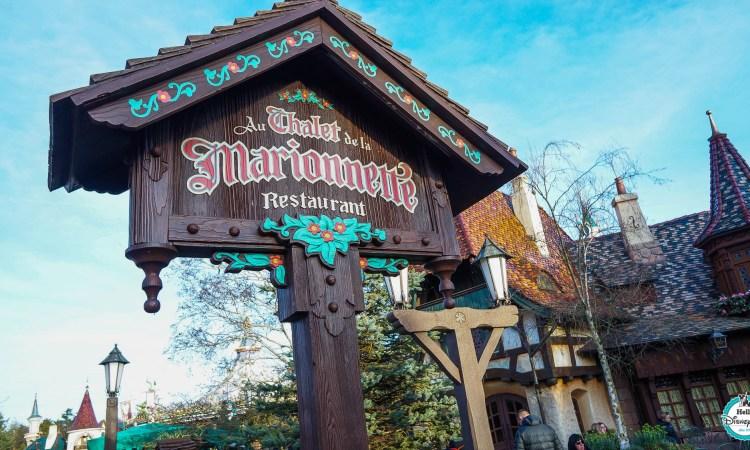 Chalet de la Marionnette Restaurant Pinocchio - Disneyland Paris