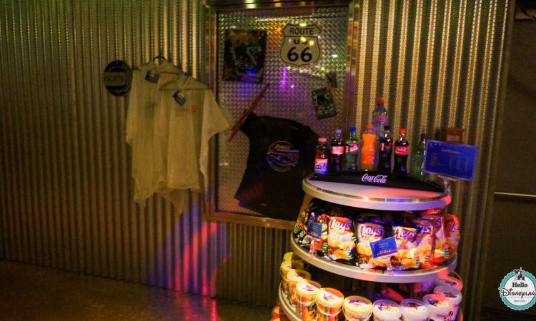 Rock around the shop Disneyland Paris