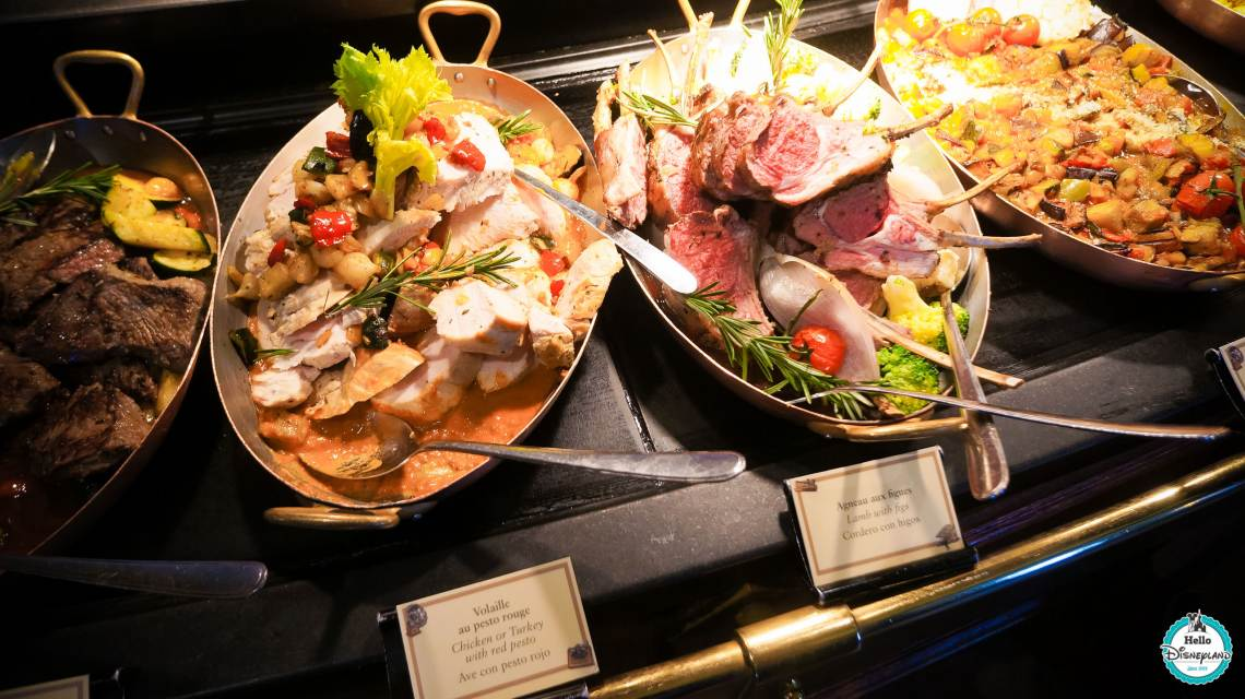 Buffet Inventions Disneyland Paris Avis disneyland hotel