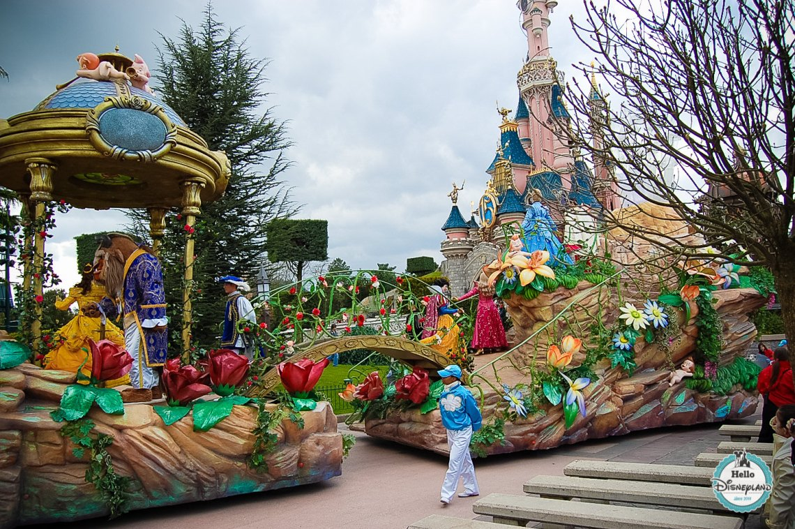 Disney Once Upon a Dream Parade - Disneyland Paris -29