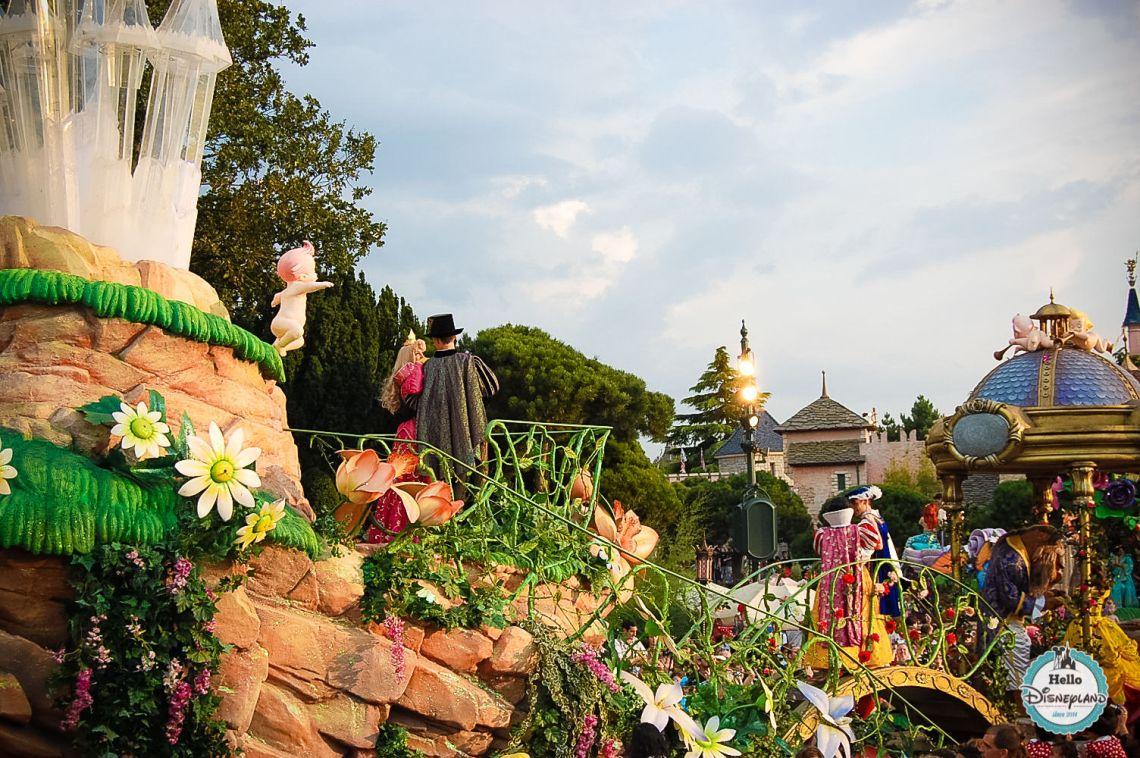 Disney Once Upon a Dream Parade - Disneyland Paris -34