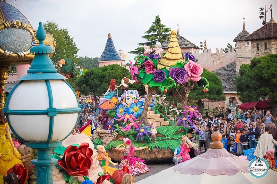 Disney Once Upon a Dream Parade - Disneyland Paris -36