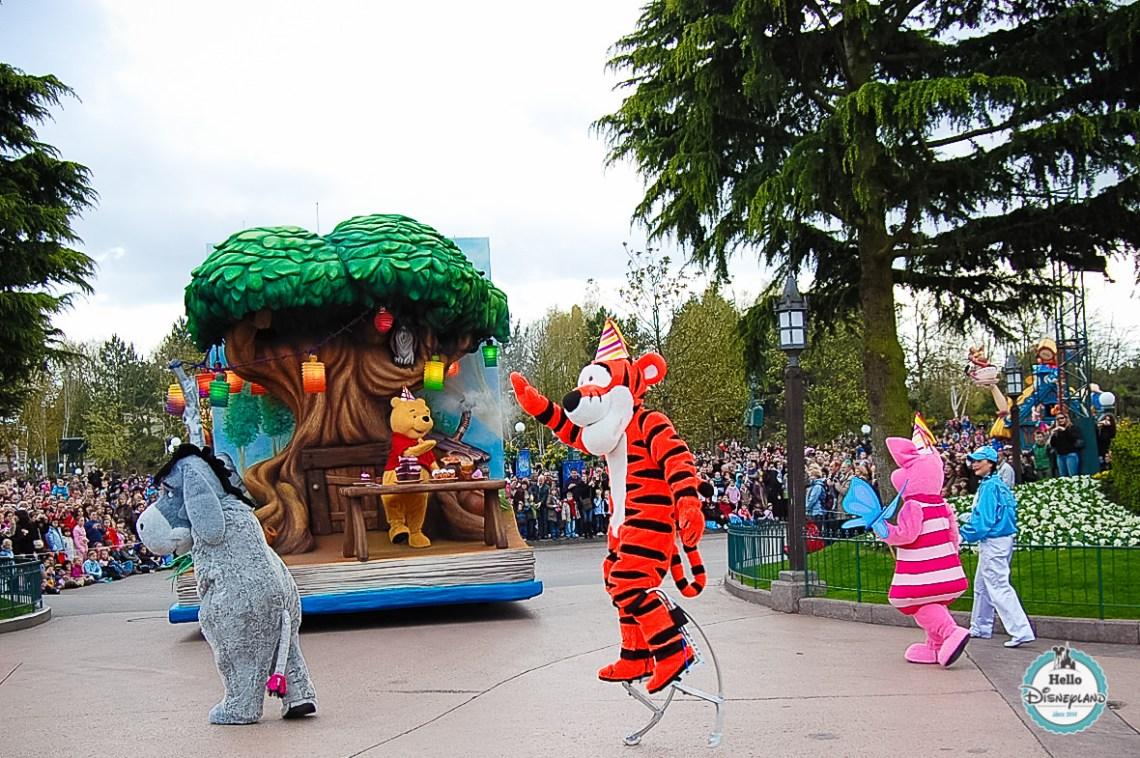 Disney Once Upon a Dream Parade - Disneyland Paris -9