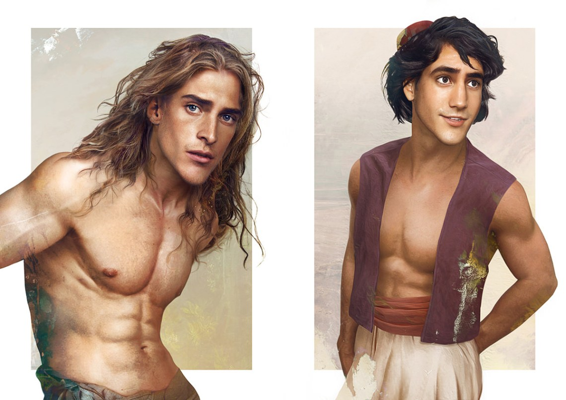 Real life disney boys - Les princes Disney version réaliste
