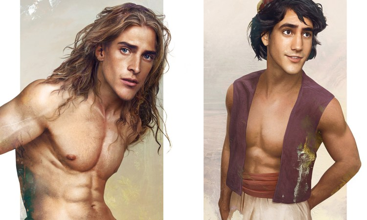 Real life disney boys - Les princes Disney version réaliste