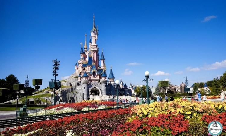 Chateau de la belle au bois dormant disneyland paris