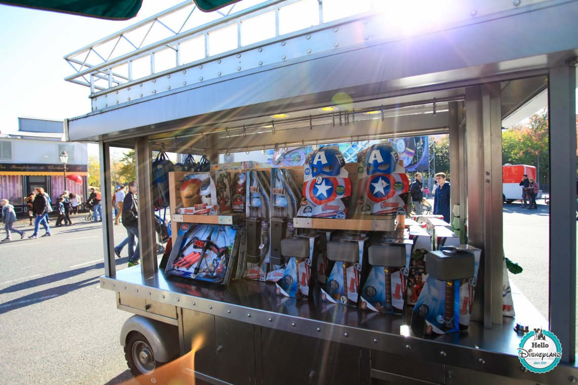 Backlot Accessory Truck - Disneyland Paris Boutique