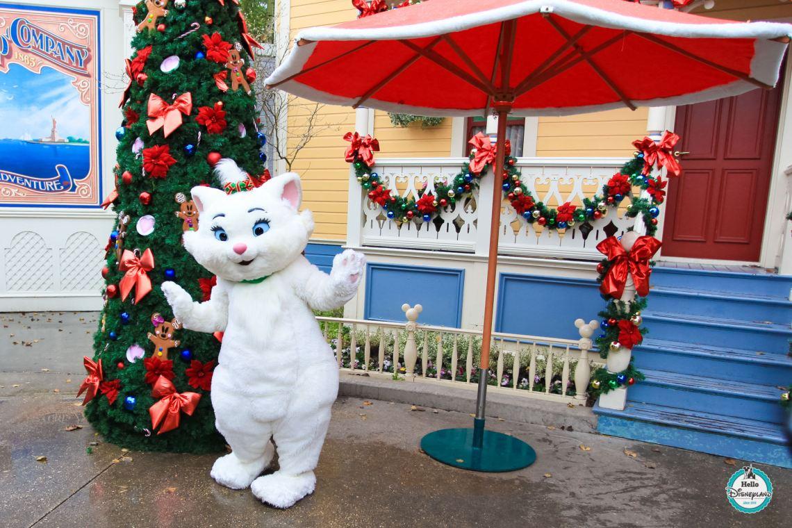 Noel Christmas Marie Aristochats - Disneyland Paris