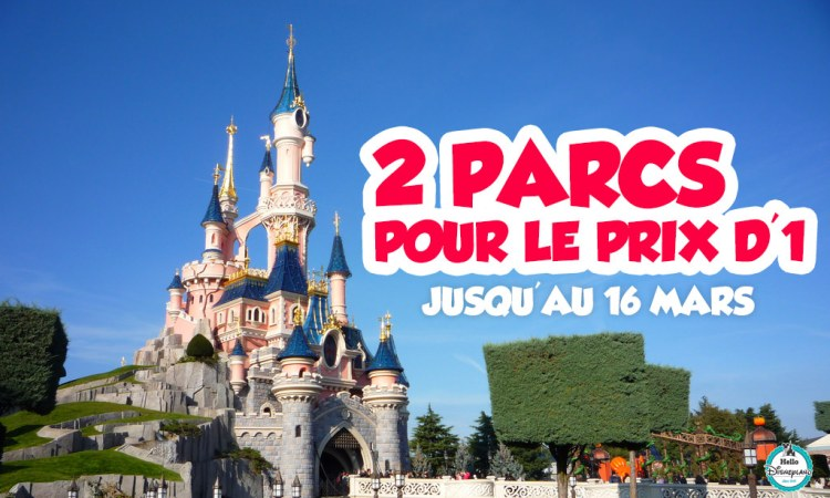 promo disneyland paris 2016
