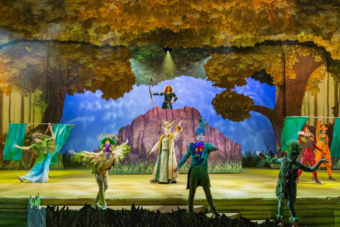 la Forêt de l'Enchantement, spectacle musical Disneyland Paris