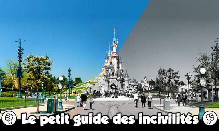 incivilites Disneyland Paris