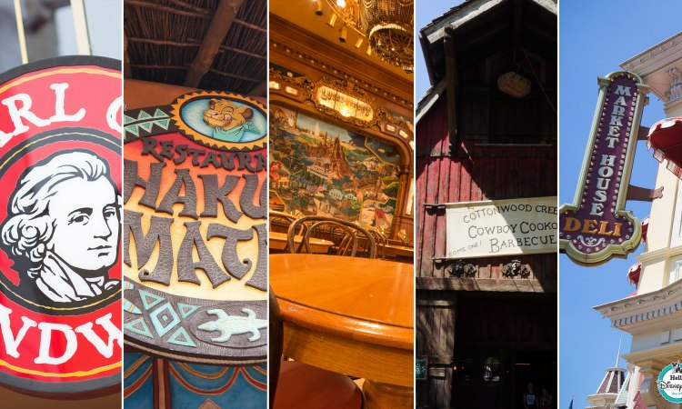 Meilleurs restaurants rapide Fast Food Disneyland Paris