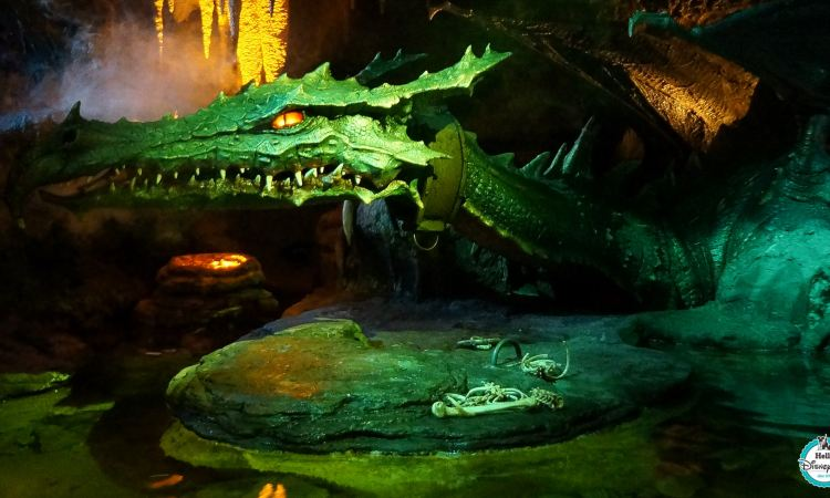 La Taniere du Dragon - Disneyland Paris