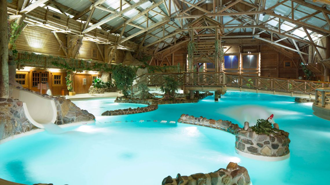 piscine du sequoia lodge disneyland paris