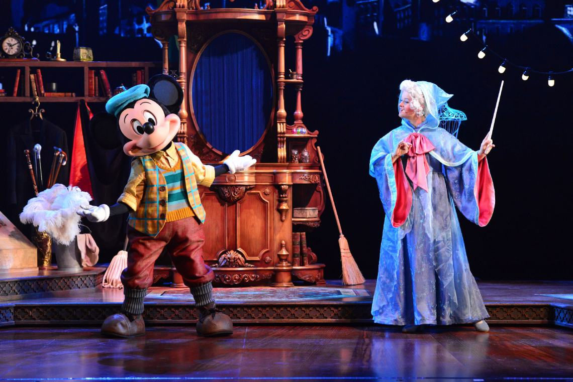 Micket et le Magicien - Disneyland Paris - Mickey and the Magician