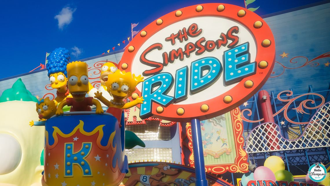Universal Orlando Resort - Simpsons Land