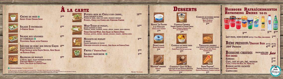 Disneyland-Paris-Restaurant-Menus-2017-Last-Chance-Café