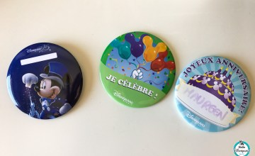 Badges gratuits Disneyland Paris