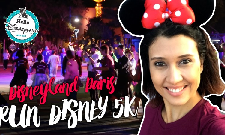 run disney france vlog 2017
