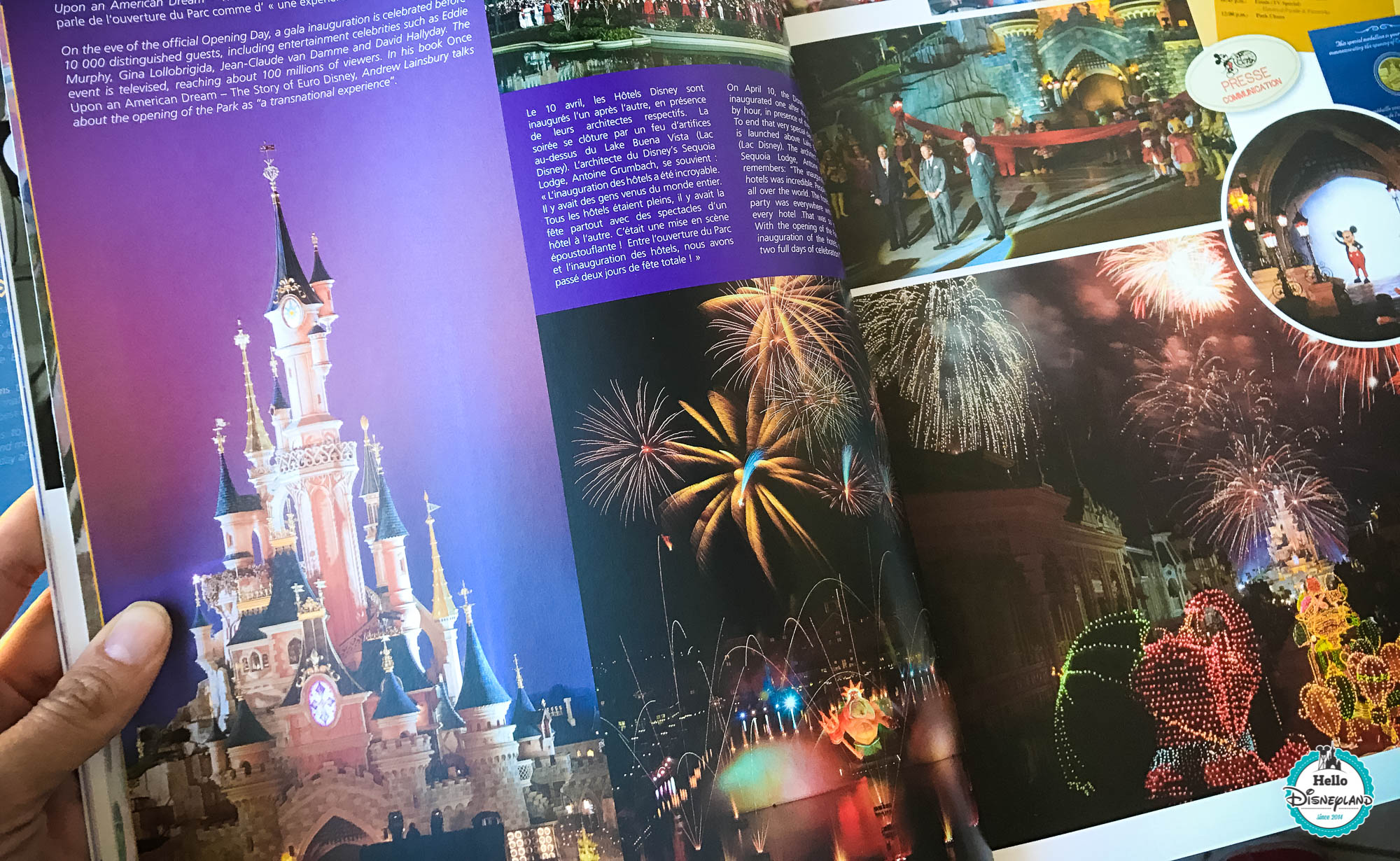Disneyland Paris Parcs Disney Ma Collection De Livres