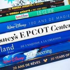 Parcs Disney : ma collection de livres