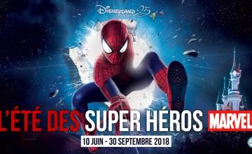 Programme Ete Super heros Disneyland Paris