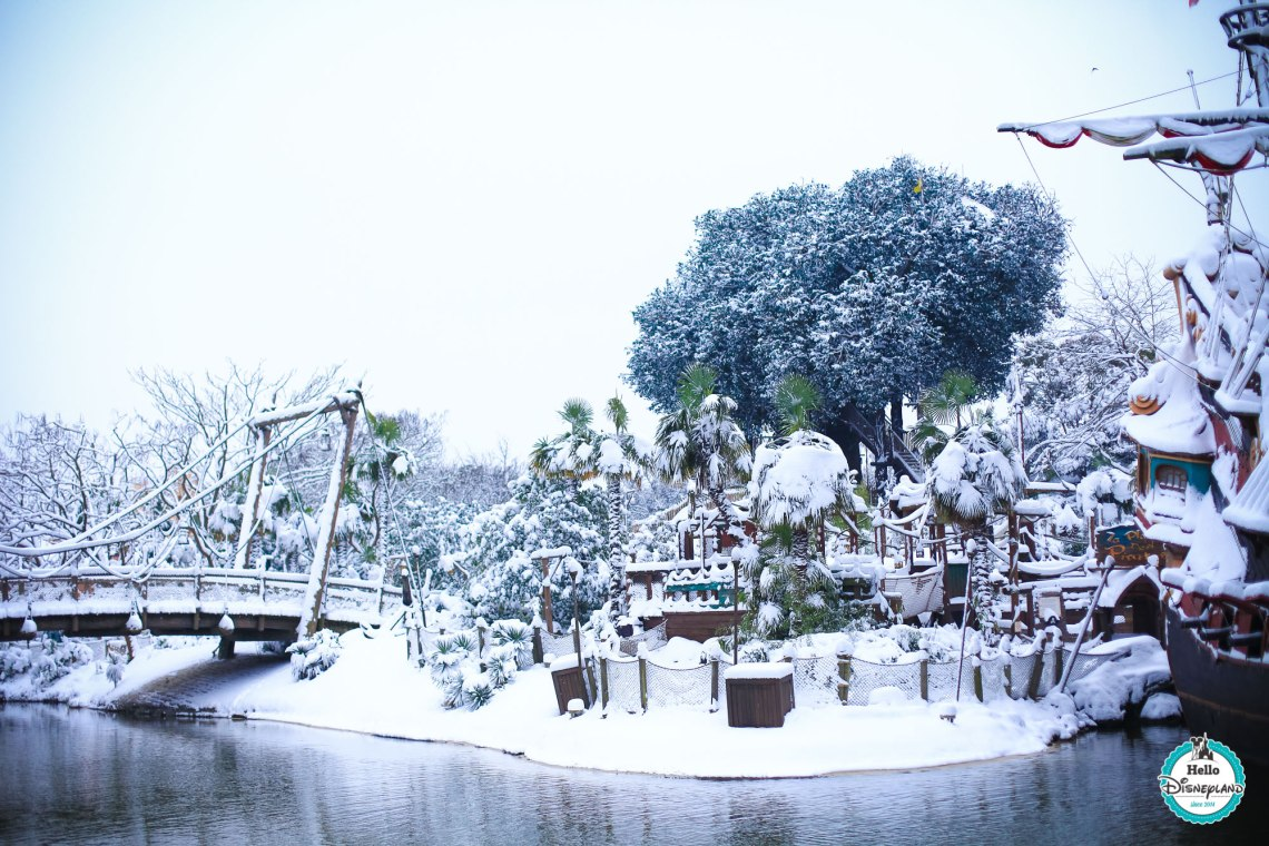 Snow Disneyland Paris Neige