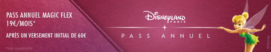 Pass Annuel Disneyland Paris pas cher promos