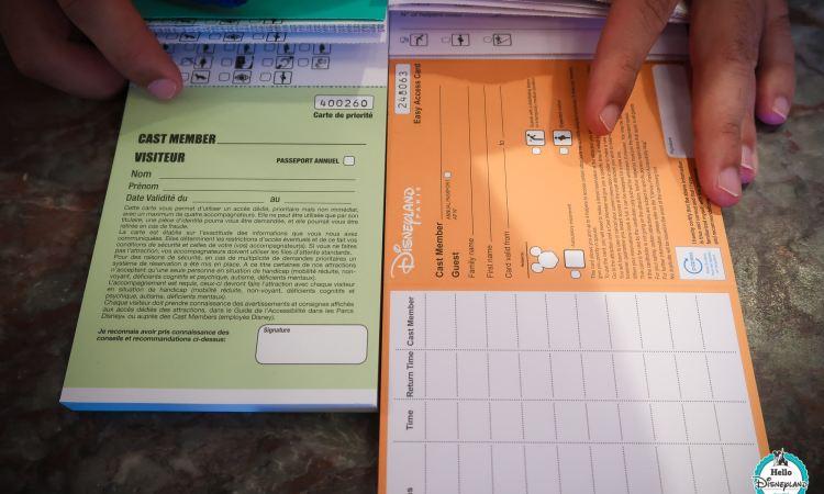 Carte acces prioritaire - Disneyland Paris-1