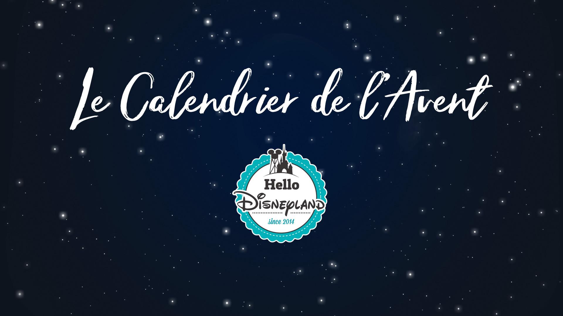 Calendrier De L Avent Minnie.Le Calendrier De L Avent Hello Disneyland 24 Cadeaux