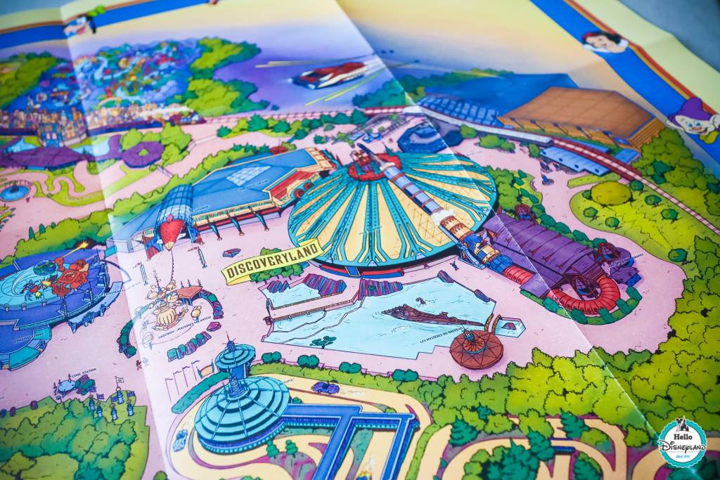Disneyland Paris Fun Map 2019-12