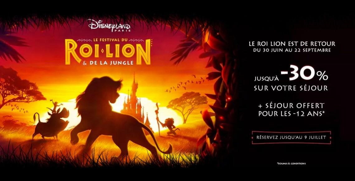 promos disney roi lion pas cher 2019