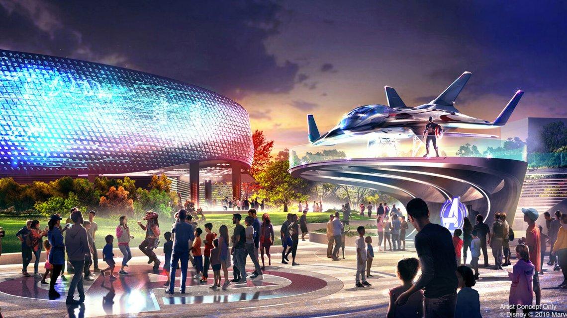 Concept Art - Avengers Campus