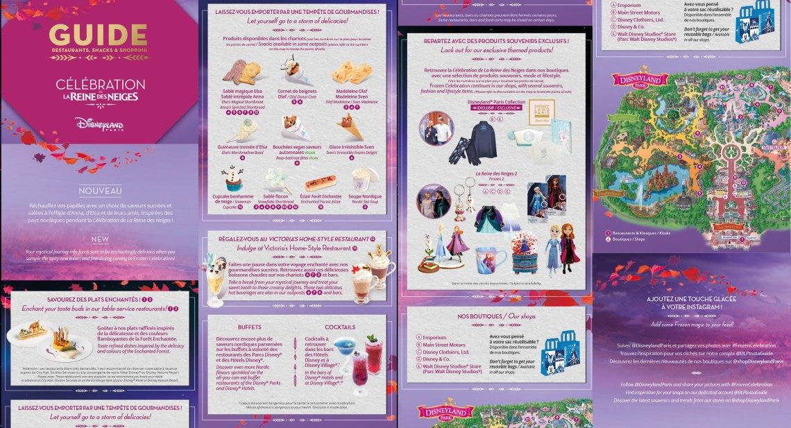 Disneyland Paris Le guide Food & Shopping Reine des Neiges