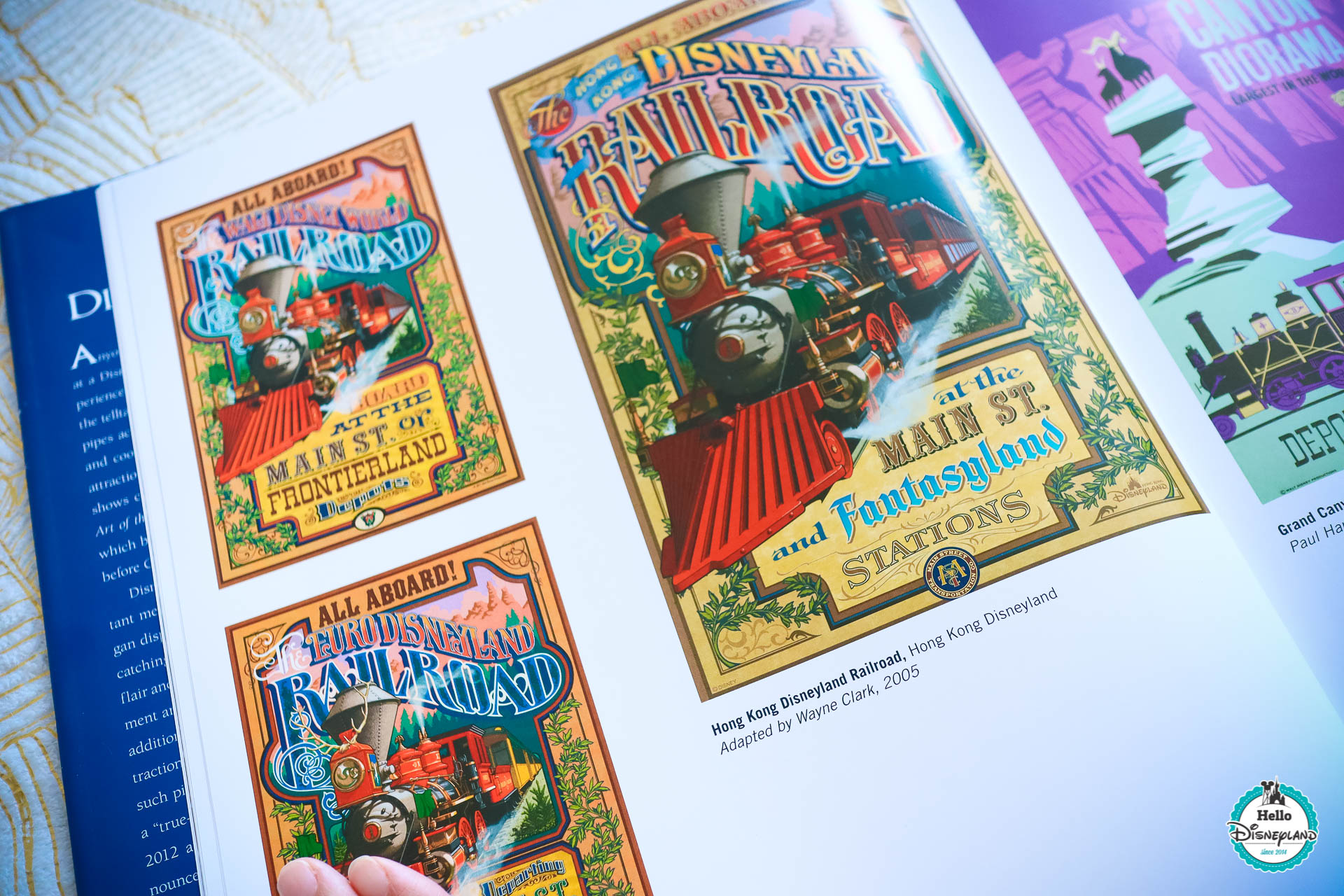 posters d attractions disney