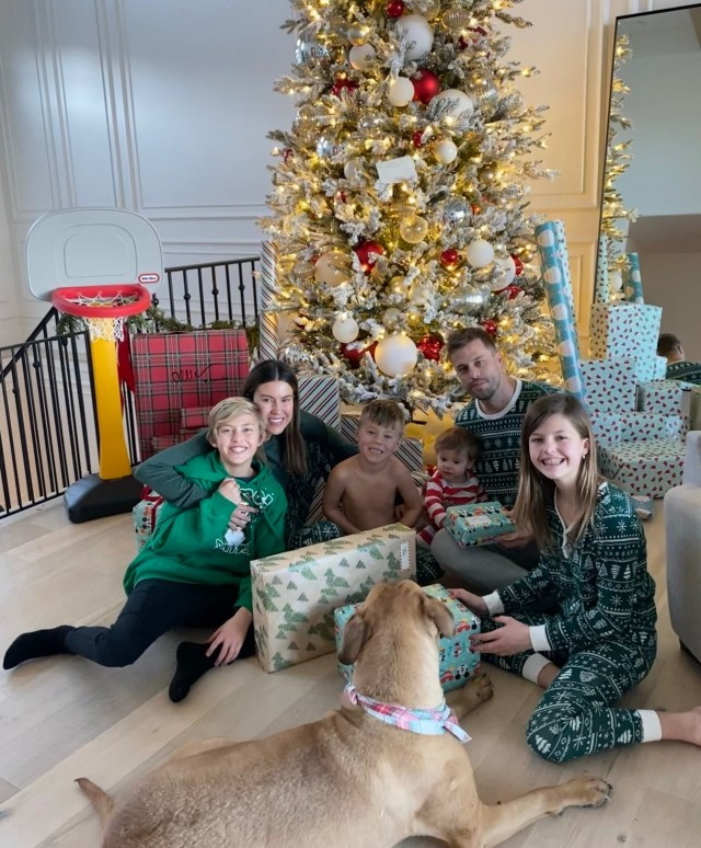 blended family Christine Andrew