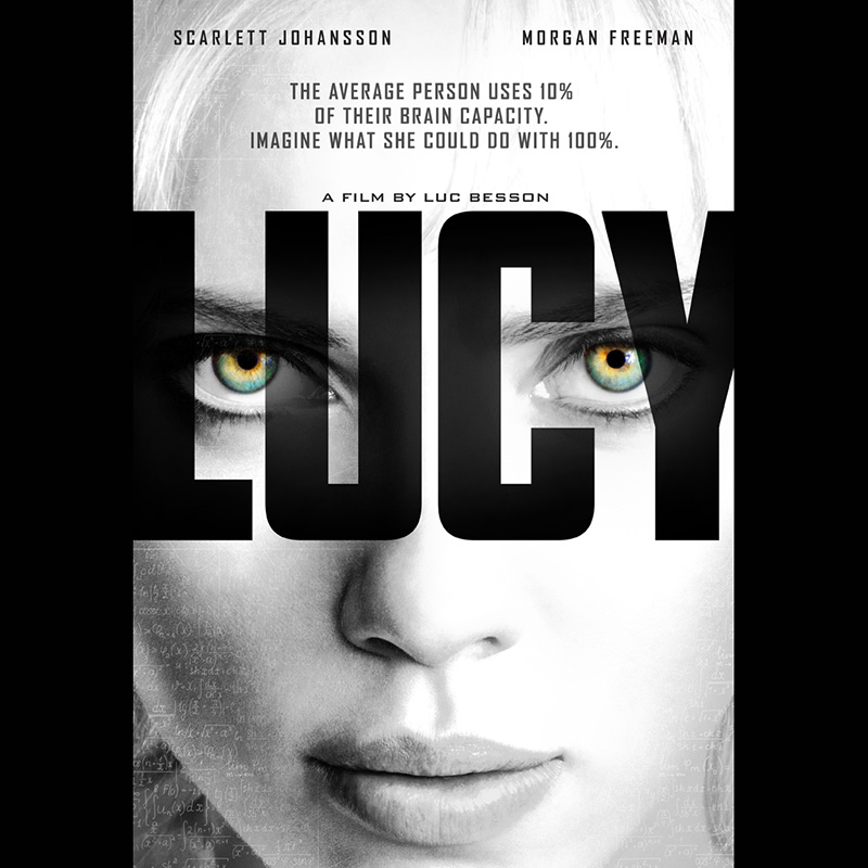 lucy luc besson film hjärnan #hellopetermax inspiratär