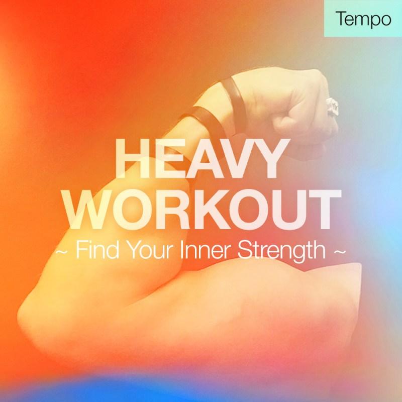 spotify playlist heavy workout