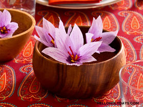 saffron-flowers