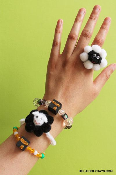 DIY Eid al Adha Jewelry by Hello Holy Days!