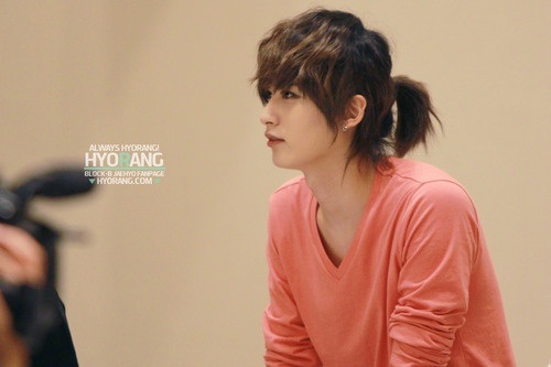 Let Your Hair Down Boys ... Male Kpop Idols Who Look