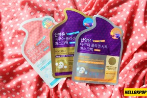 Yeppunonnie, AQUTOP Goat Milk Aqua Collagen Sheet