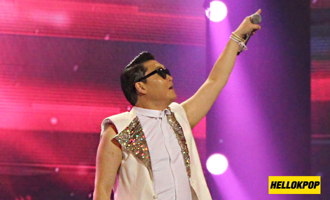one k global peace concert psy